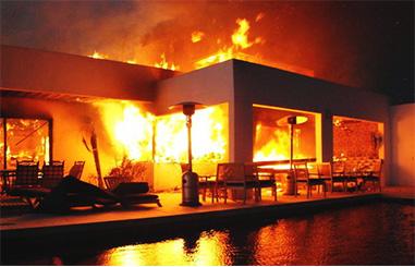 Obrázok požiaru